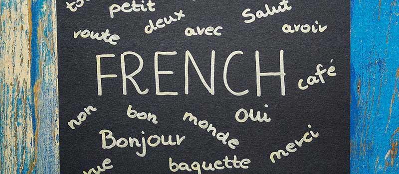تاریخچه زبان فرانسه