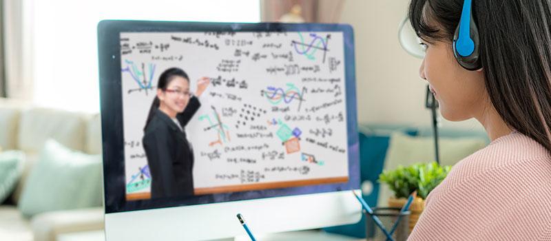 یادگیری مجازی زبان