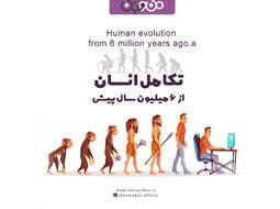 تکامل انسان از 6 میلیون سال پیش